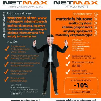 Ulotka Netmax